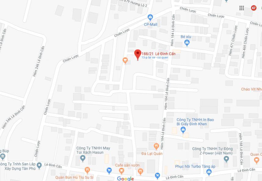 Cho thuê nhà hẻm ô tô Lê Đình Cẩn Quận Bình Tân, diện tích 4m x 12m, 1 trệt 1 lầu, giá cho thuê 7triệu/tháng - cọc trước 3 tháng.