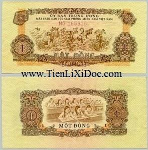 1 Đồng Mặt Trận Giải Phóng 1963