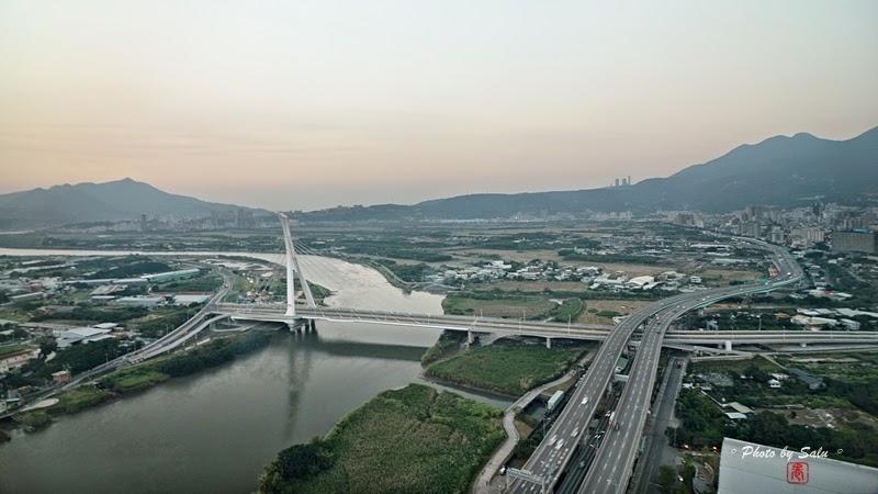 台北 北投焚化爐 關渡平原 社子大橋 夜景