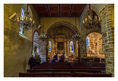 Mont Saint Michel - In der Kapelle
