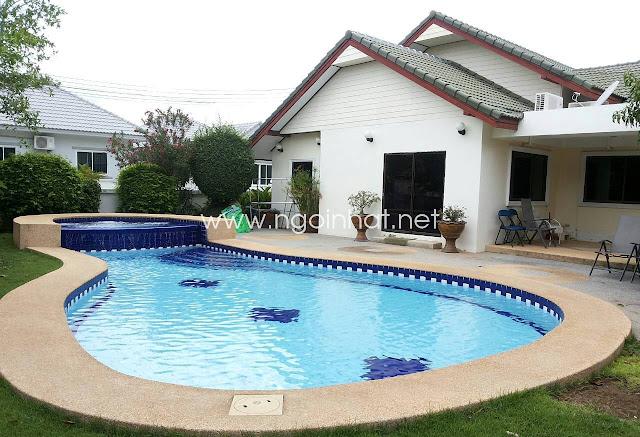 Nhà biệt thự có hồ bơi