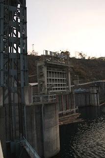 池田発電所取水口