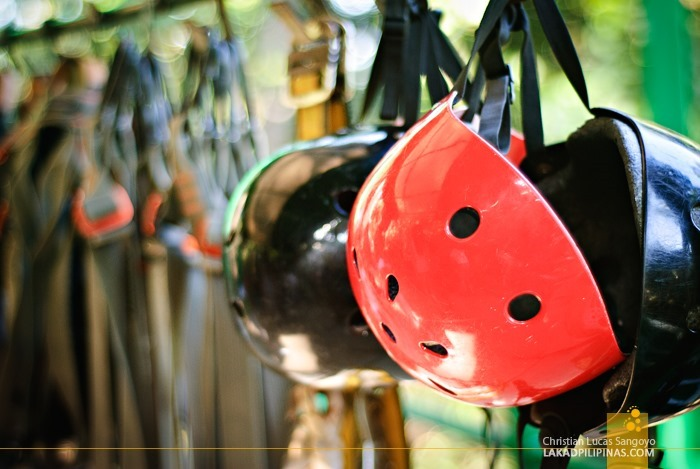 Safety Gear at Subic's Tree Top Adventure