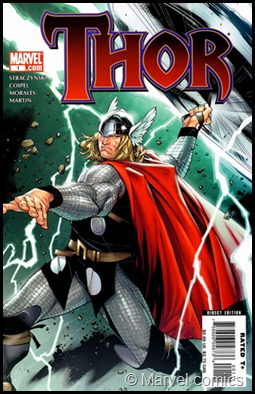 Thor cover - marvel comics