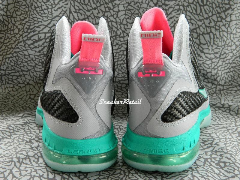 ... Detailed Look at Kids8217 Nike LeBron 9 GS 8220Miami Vice8221 ... db668febdf