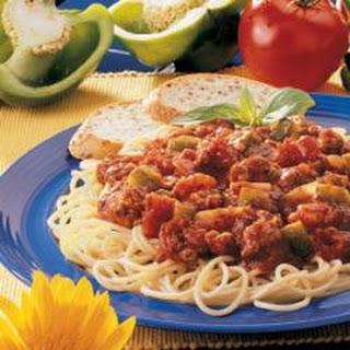 Meaty Spaghetti Sauce