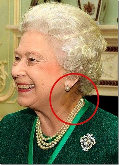 Rainha Elizabeth II Repitiliana
