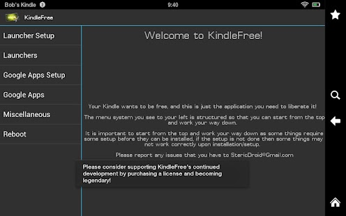 KindleFree (Free)- screenshot thumbnail