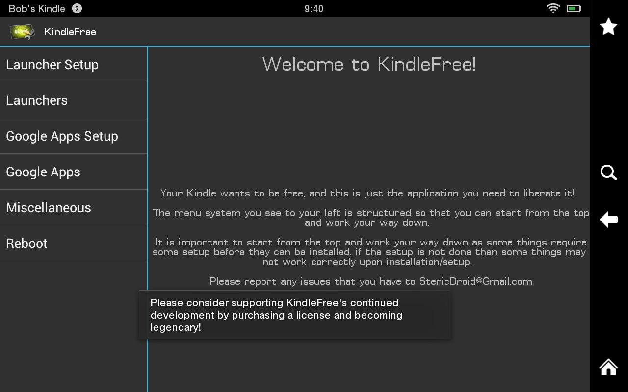 KindleFree (Free) - screenshot