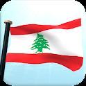 レバノンフラグ3Dライブ壁紙 icon