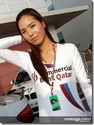 Paddock Girls Commercialbank Grand Prix of Qatar  08 April  2012 Losail Circuit  Qatar (17)