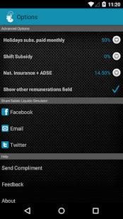 Simulador Salário Líquido- screenshot thumbnail