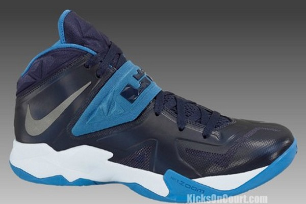 wholesale dealer 494ae f13a8 Find Nike Zoom Soldier 7 Lebron James Cheap sale Blue Grey