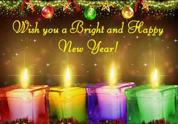 открытки с новым годом 2013