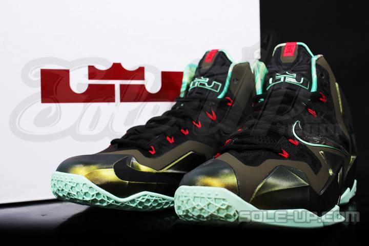 super popular ba092 9d4d3 ... Upcoming Nike LeBron XI 8211 Armory Slate 8211 in Full Detail ...