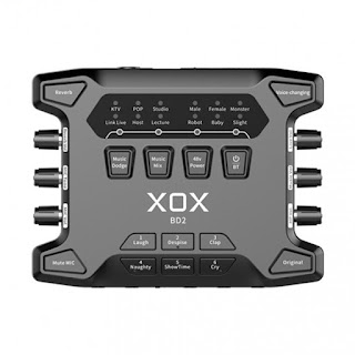 XOX BD2 - Sound Card Bluetooth, 48V Hát Karaoke Online
