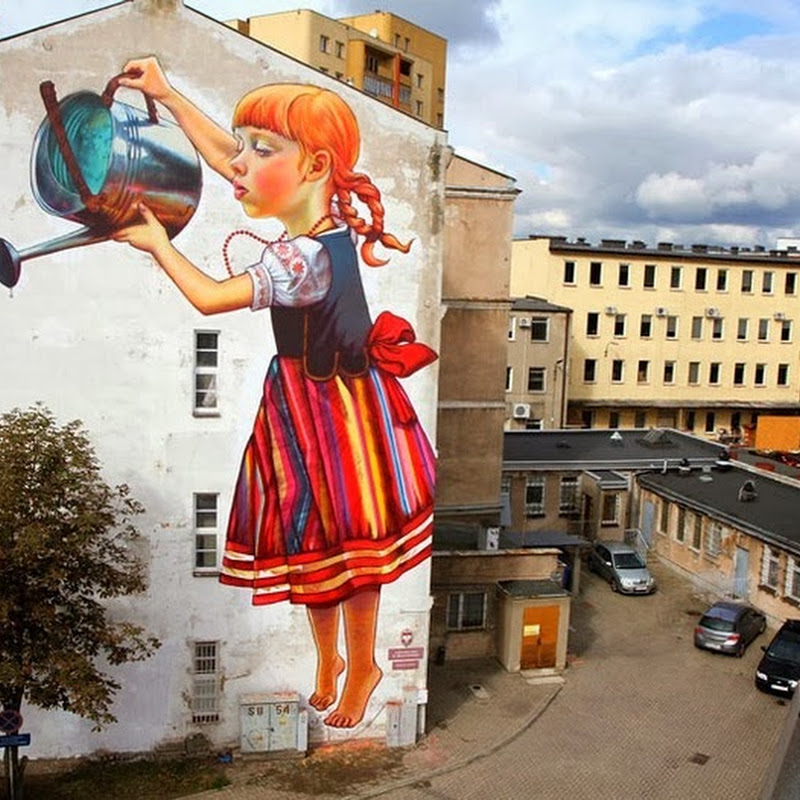 Street Art by Natalia Rak