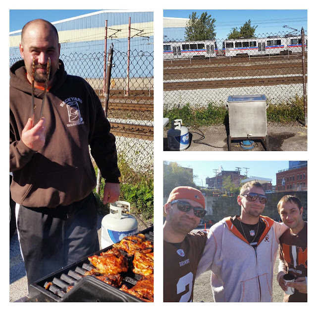 cleveland, Browns, tailgating, clam bake, ohio, fall