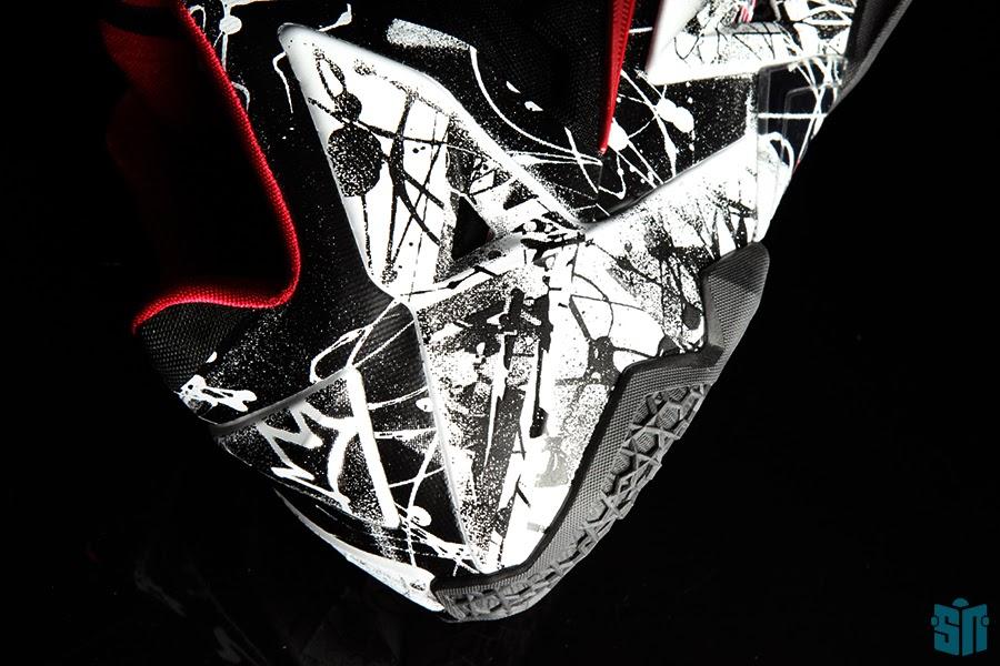 competitive price 43e3f e6425 ... 8220Graffiti8221 A Truly Beauty Look at Nike LeBron XI 11  8220Graffiti8221 ...