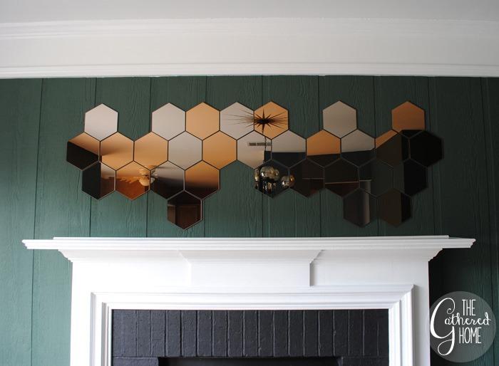 Dining Room Midcentury Chandelier Honefoss Mirrors 19