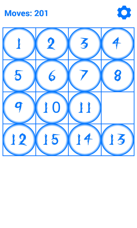 15 Puzzle- screenshot