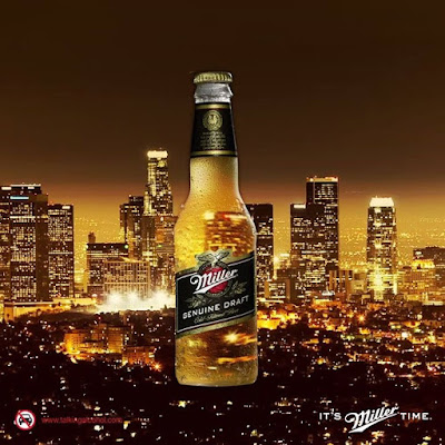 The city is calling Ignite the night with Miller Genuine Draft ItsMillerTime