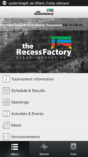 Recess Factory - Custom Events