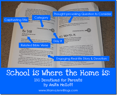 180 Devotions for Homeschool Parents {School Is Where the Home Is}