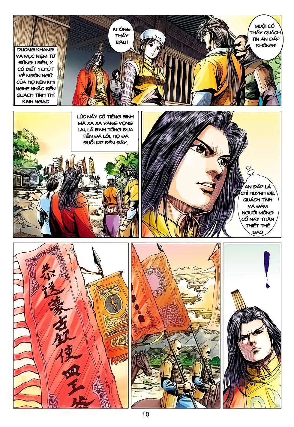 Anh Hùng Xạ Điêu anh hùng xạ đêu chap 61: thất tử chiến thiết thi trang 10