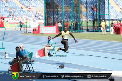 Team Jamaica Triple jumper Clive Pullen comments after missing the final TeamJamaica