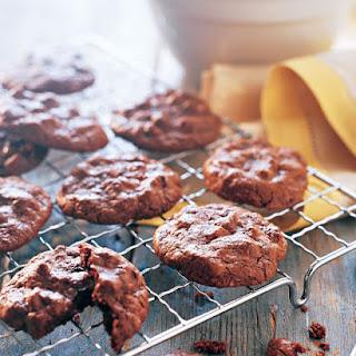 Chocolate Passover Cookies.