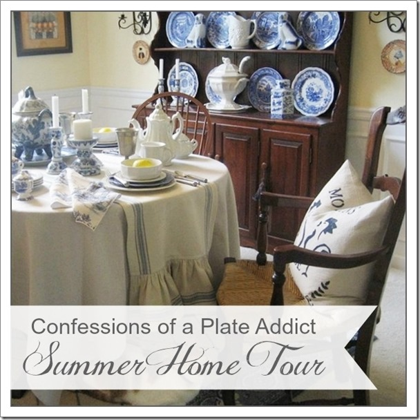 CONFESSIONS OF A PLATE ADDICT Summer  Home Tour 3a