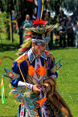 Lenape Powwow Fancy Dancer2