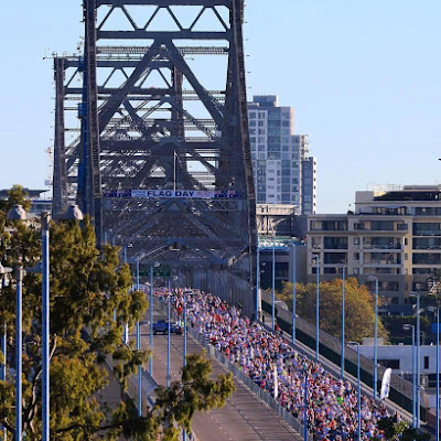 The results are in See how quickly YOU conquered Bridge to Brisbane