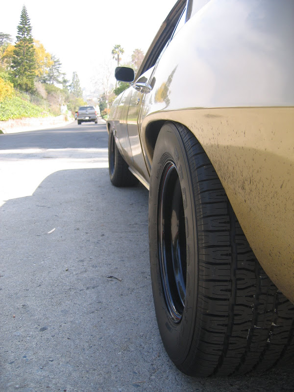 Pics Of A Bf Goodrich P 60 R15 Tires On 15x7 Team