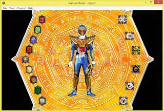 Kamen Rider Gaim & Wizard The Fateful Sengoku Movie Battle