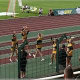 Einlauf Aces (Berlin Adler Cheerleader)
