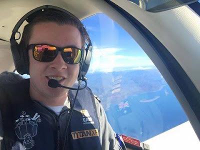 Sunshine Coast teenage pilot Lachlan Smart has arrived safely in Sri Lanka