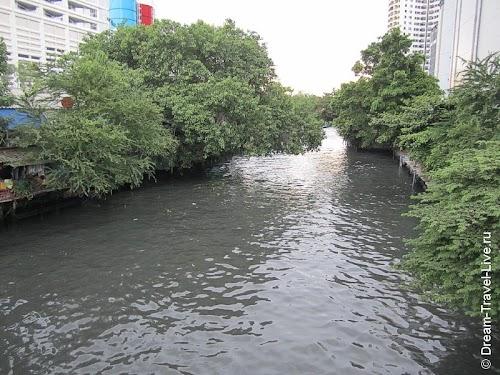 Клонг в Бангкоке
