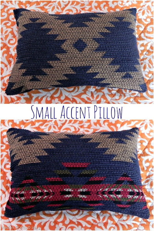 Small Accent Throw Pillow