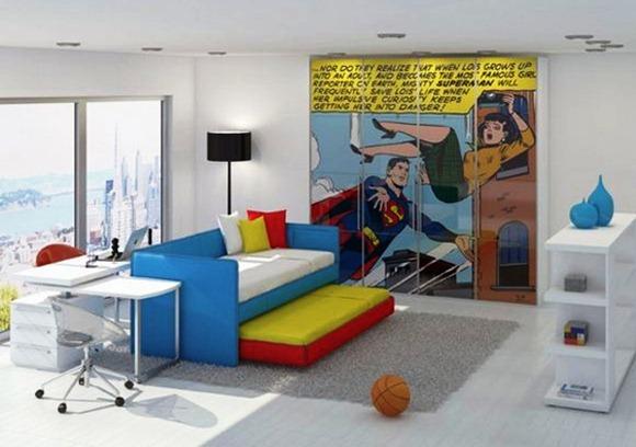 15 dormitorios tem ticos para ni os idecorar - Dormitorios tematicos infantiles ...