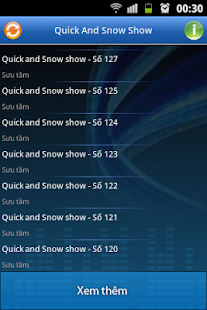 Quick And Snow Show