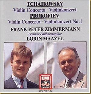 Prokofiev concierto violin 1 Zimmermann Maazel