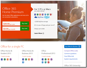 office 365 vs 2013