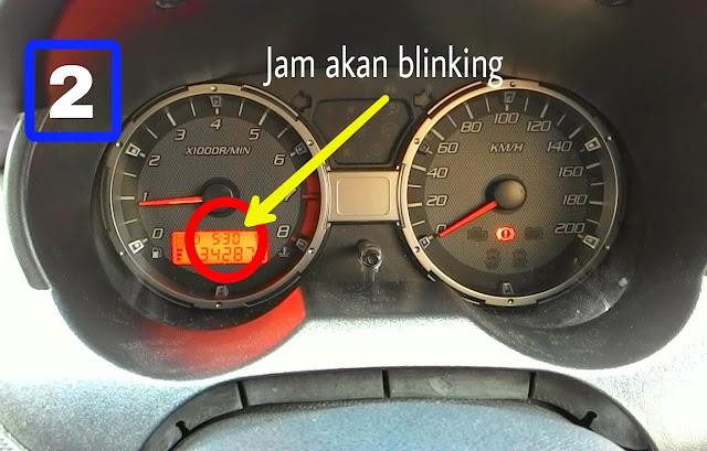 cara setting jam flx