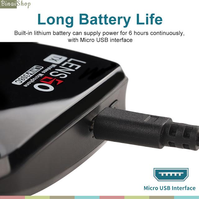 Lensgo LWM-308C - Micro Cài Áo Không Dây