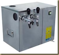 установка для розлива пива/кваса: охладитель, охолоджувач