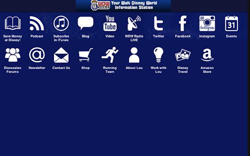WDW Radio - screenshot thumbnail