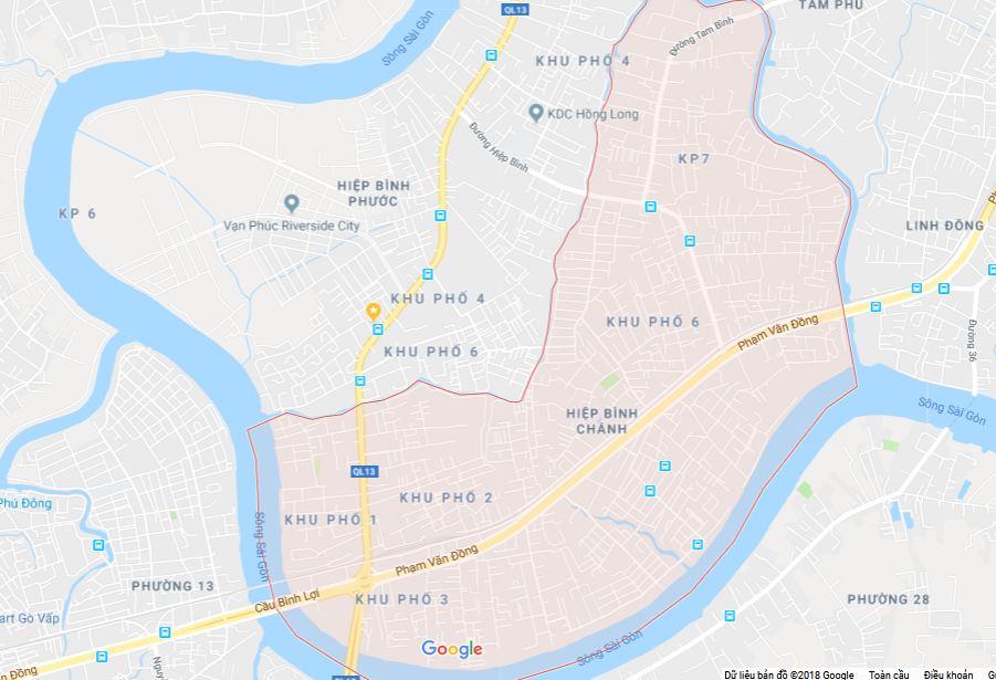 Bán nhà 1 trệt 3 lầu hẻm ô tô Phạm Văn Đồng Quận Thủ Đức, diện tích 4m x 13,6m  - 1