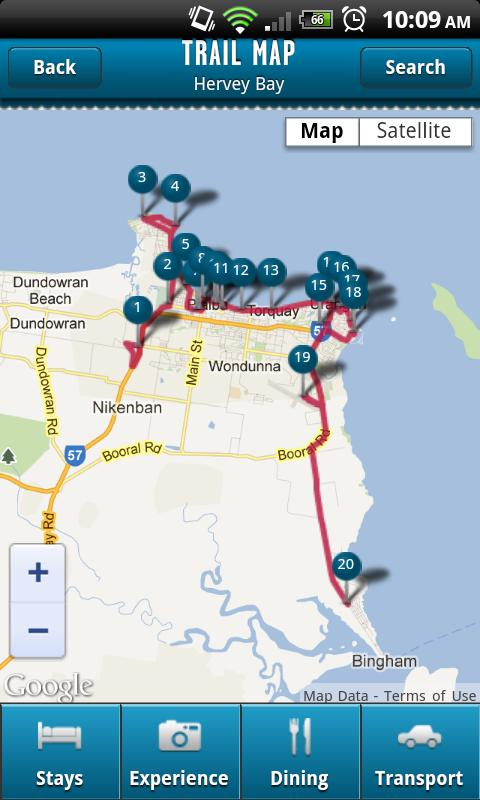 Fraser Coast Trails - screenshot